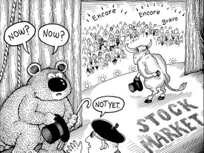 Financial Cartoon - Let the Show Begin!