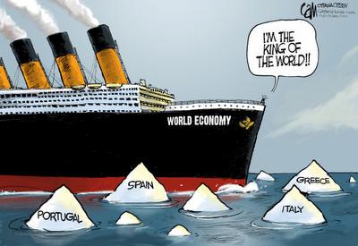 Funny Cartoon - World Economy