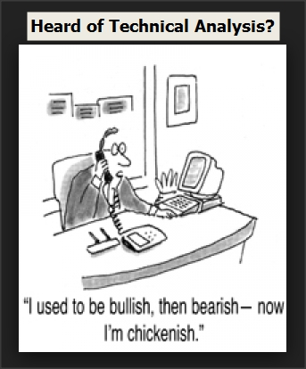 Financial Cartoon - Heard of Techinical Analysis?